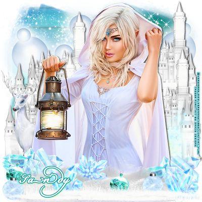 MI RINCÓN GÓTICO: CT for Sandy Designs, *Ice Queen*