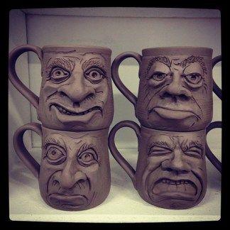 New Face Mugs (1-2)