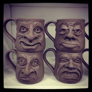 New Face Mugs (1-2)
