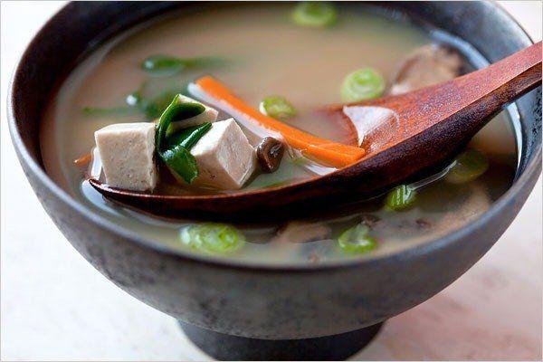 Японский мисо суп с тофу