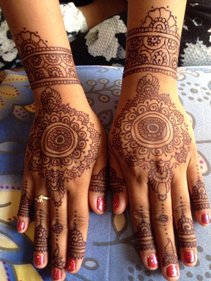 My henna