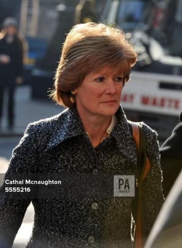 jan 28, 2008--Diana Inquest--Lady Sarah McCorquodale arrives at London's High Court to give evidence for the inquest into the deaths of her sister Diana, Princess of Wales and Dodi Fayed