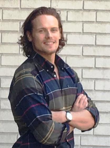 NEW Fan Pics of Sam Heughan at Barbour and Bloomingdale's | Outlander Online