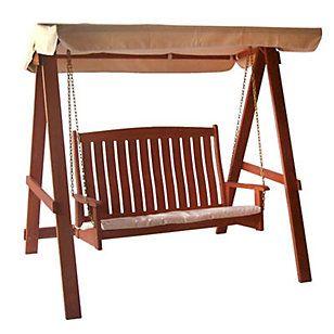 Las 25 mejores ideas sobre columpio de madera en - Columpio de madera para jardin ...