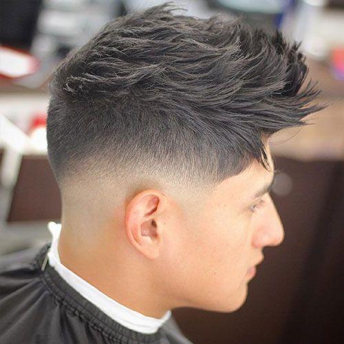 The Razor Fade Haircut Mid Fade Haircut Low Fade