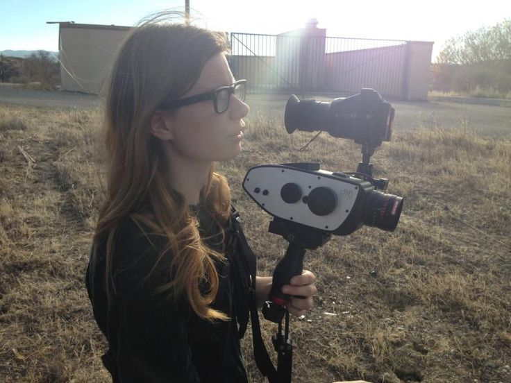 Elle Schneider. Great article. And see her latest campaign on the Women's Film Campaigns board nearby! http://www.indiewire.com/article/there-arent-enough-women-cinematographers-and-that-needs-to-change-20141030