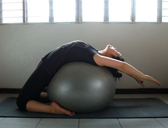 Yoga back bends: feels yummy on the autonomic nervous system