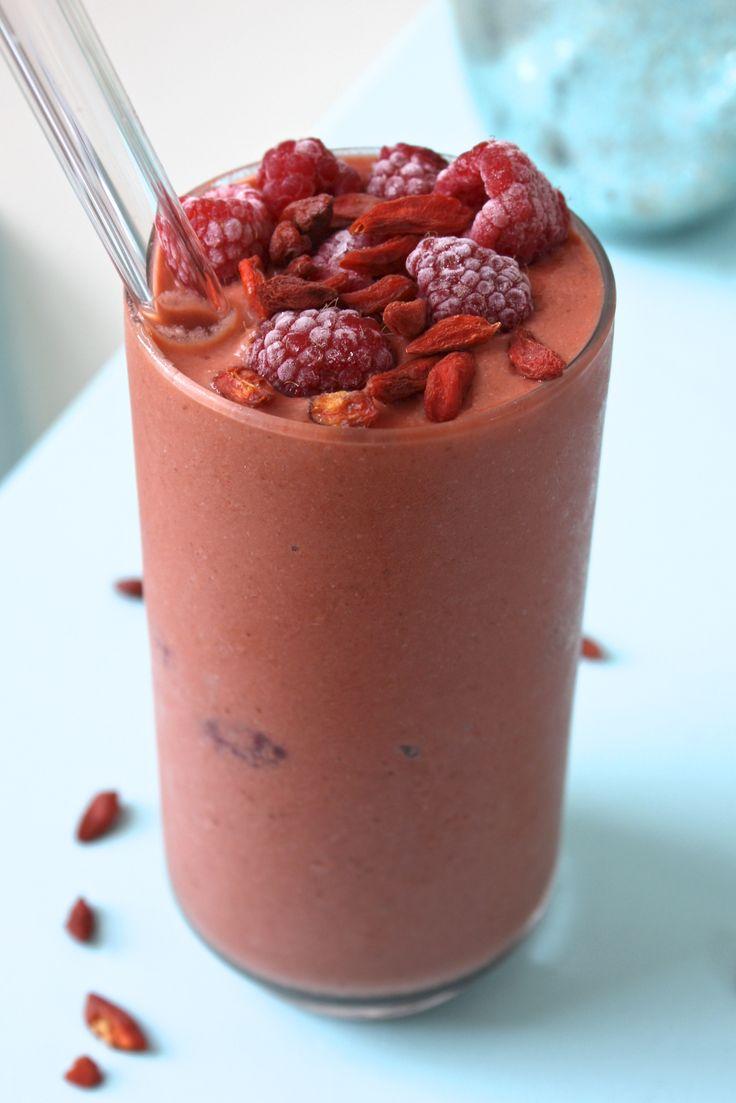 lemon raspberry goji berry smoothie recipe