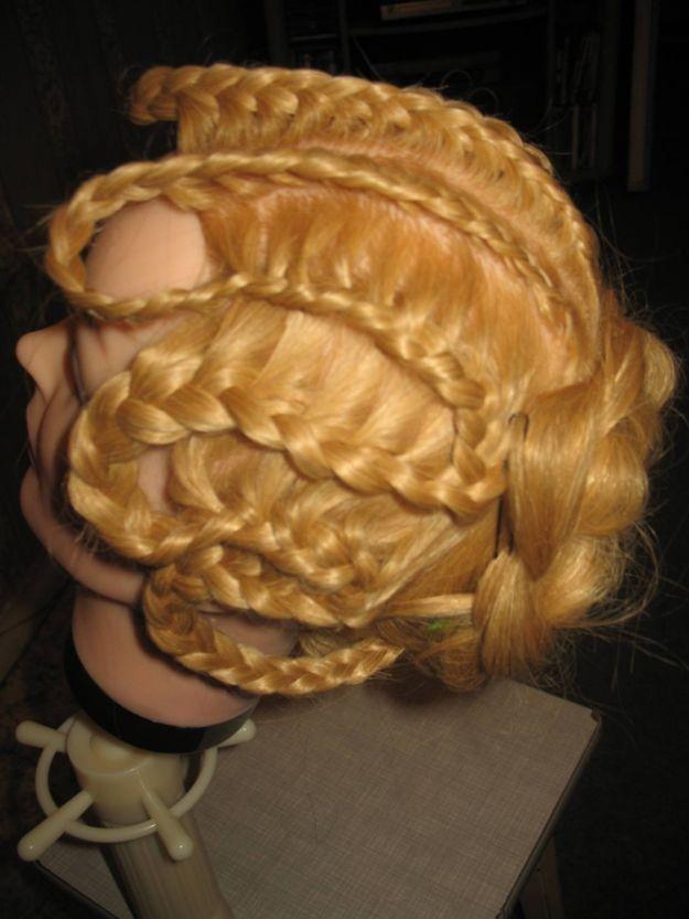 Коса «змейка» ::: onelady.ru ::: #hair #hairs #hairstyle #hairstyles