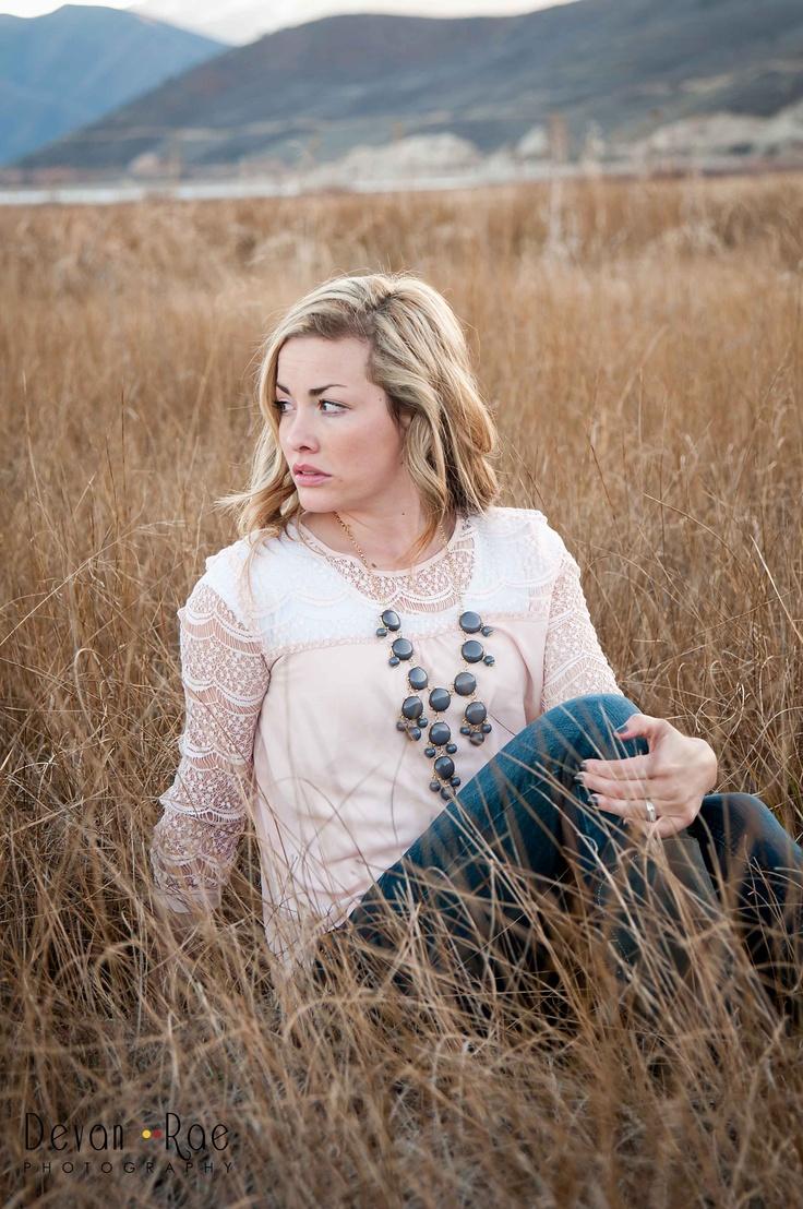 Charcoal Bubble Necklace & lace white top- Ella Claire Shoppe