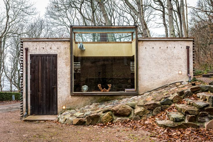 Futuristiskt och naturnära i den arkitektritade villan från 70-talet – Metro Mode