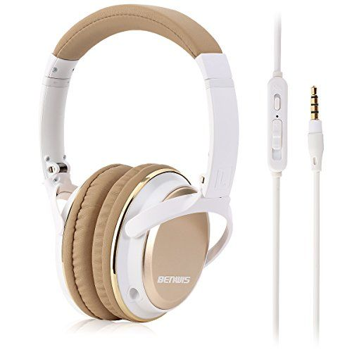 BENWIS H600 Stereo Wired Over Ear Headphones with Mic and Hard Carrying Case (apricot) https://beatswirelessheadphonesreviews.info/benwis-h600-stereo-wired-over-ear-headphones-with-mic-and-hard-carrying-case-apricot/