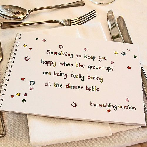 """Apparently, I'm really concerned about the kids having a great time :) (and some of these activities can be """"stolen"""" by adults I'm thinking....)  the-wedding-of-my-dreams-kids-activity-book DIY activity book for kids kids activities at wedding wedding party blog"""