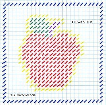 Free Printable Plastic Canvas Patterns | easy print option the easy print version includes patterns for the ...