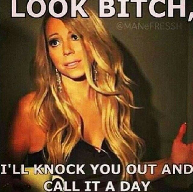 Hahaha!!!!!!!Love me some Mariah Memes!!!