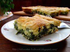 """Постигая искусство кулинарии... : """"Спанакопита"""" - греческий пирог со шпинатом и сыро..."""