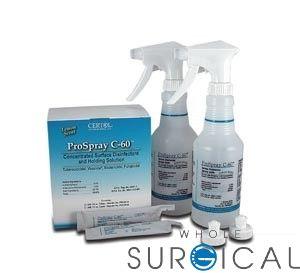 Certol - PSC60/INT - Intro Kit, Includes: 24½ oz Unit Dose, 2-16 oz Squirt Bottles & 2 Spray Caps