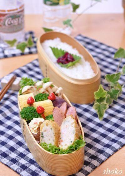 はんぺんで量増し海老カツとたっぷりタルタルソースのお弁当 by shoko ...