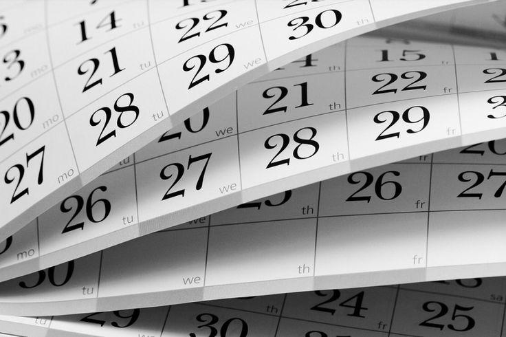 ¡Llegó el momento de imprimir calendarios!