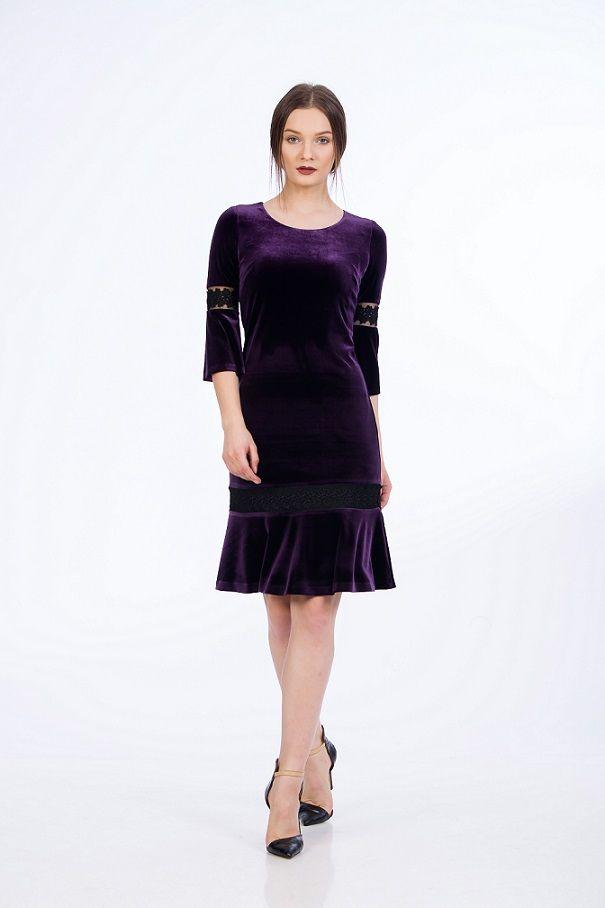 Rochie Jazz de catifea. Rochii elegante, de ocazie, rochii de seara Velvet Jazz Dress. #fashion #style #shopping #dress #jazzinspiration #rochiedeseara #rochii2017 #velvet #velvetdress
