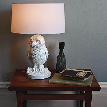 West Elm | Owl Lamp