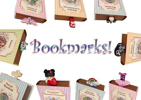 http://accessoriesforstars.blogspot.ro/p/cercei.html #bookmarks #polymer #original #unique #books #bookmark #accessoriesforstars
