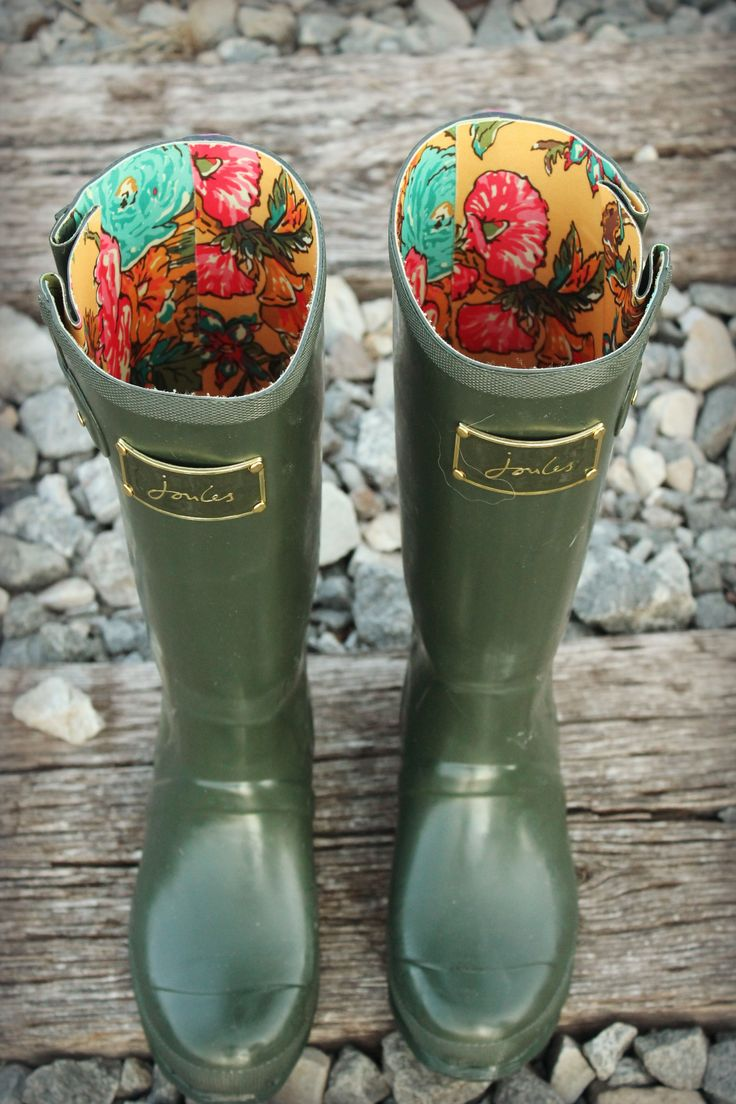 Even though we may always not love the weather, its a great excuse for a pair of these lovelies! #Joules