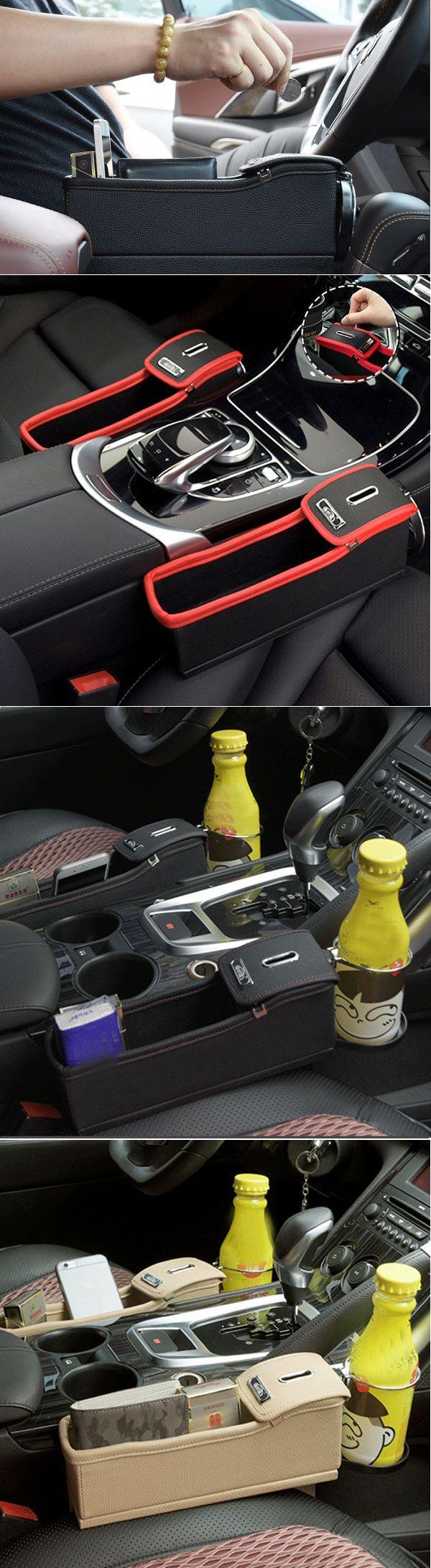 US$24.99 Car Storage Bag Box Money Pot Beverage Holder Car Seat Pocket Organizer