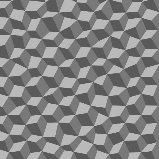 Morphing necker cubes