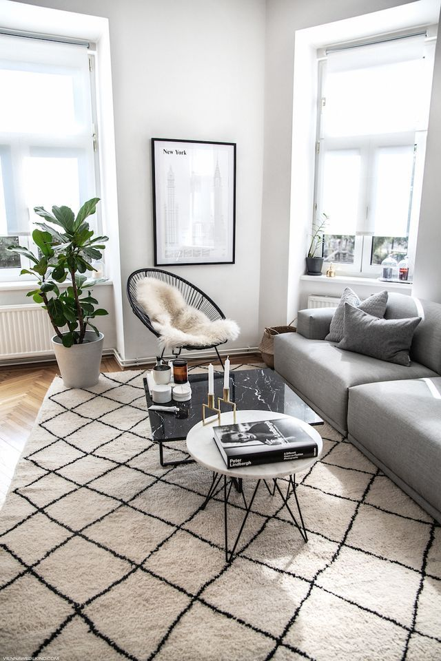 living room update black grey accents vienna wedekind home rh pinterest com