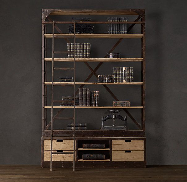 ... fang home furnishing shop about LOFT iron wood furniture retro American  country to do the old wood shelves