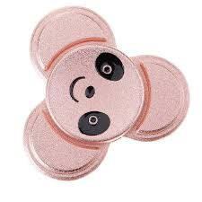 Fidget spinner Panda face grey, EDC toys, Buy online Fidget spinner, Fidget spinner Australia, Alloy Fidget spinner, Cheap Fidget Spinner, Best EDC Toys  #TriAnglefidget #TriangleFidgetSpinner