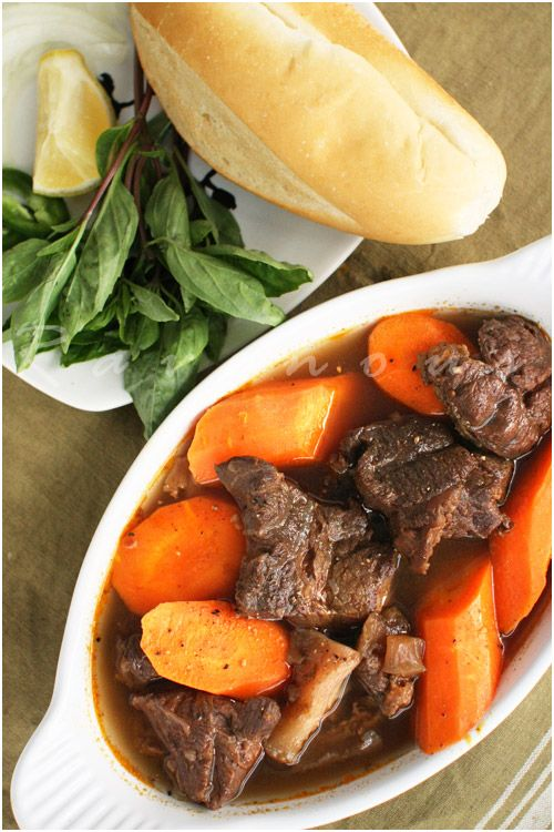 Beef Stew (Bo Kho) , another vietnamese dish, can't wait to be home to have some of momma's home cookin'!
