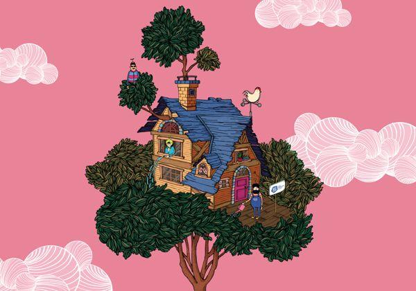 Tree House Cartooning, Character Design, Illustration