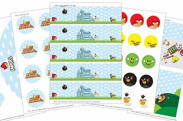 Festa Personalizada Digital - Angry Birds para o SamuelFesta Personalizada Digital - Bebê Maluquinho - Tuty - Arte  Mimos www.tuty.com.br Que tal usar esta inspiração para a próxima festa? Entre em contato com a gente! www.tuty.com.br #festa #tuty #party #bday #angrybirds