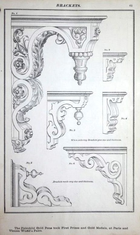 Dominion Mouldings, 1874. This is one of the earliest woodwork catalogs in the Building Technology Heritage Library. The original catalog is in the collection of the Canadian Centre for Architecture.