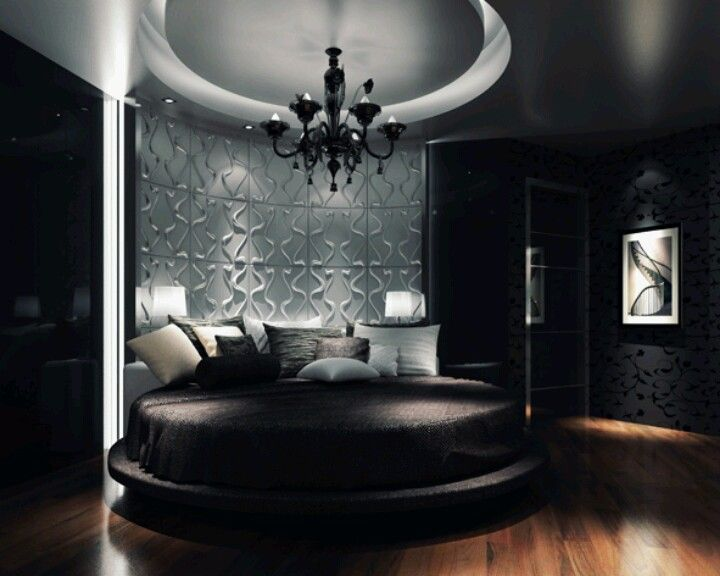 1000 images about love my king round beds on pinterest for Round bed interior design