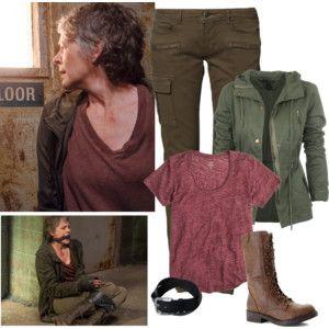 Carol Peletier #CarolPeletier #MelissaMcBride #Housewife  #twd #thewalkingdead #Zombie #Apocalypse #Walkers #Survivors #PostapocalypticWorld