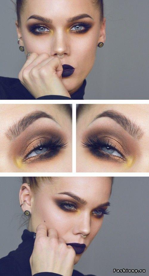 Новые идеи макияжа от Линды Халлберг