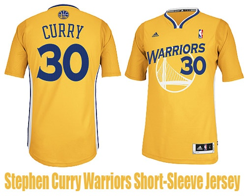 9cd303bf3 Stephen Curry Golden State Warriors Short-Sleeve Jersey