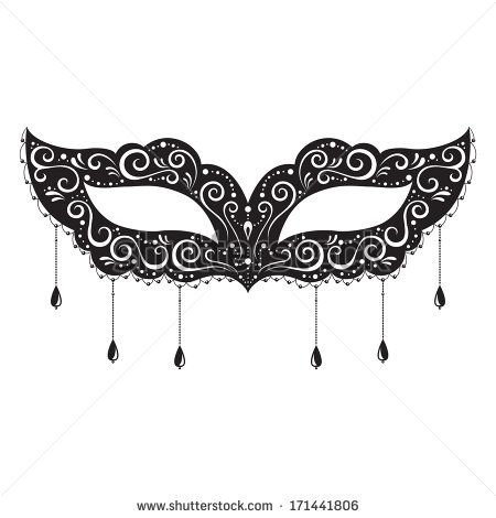 44 best masks images on Pinterest Masquerade mask template - masquerade mask template