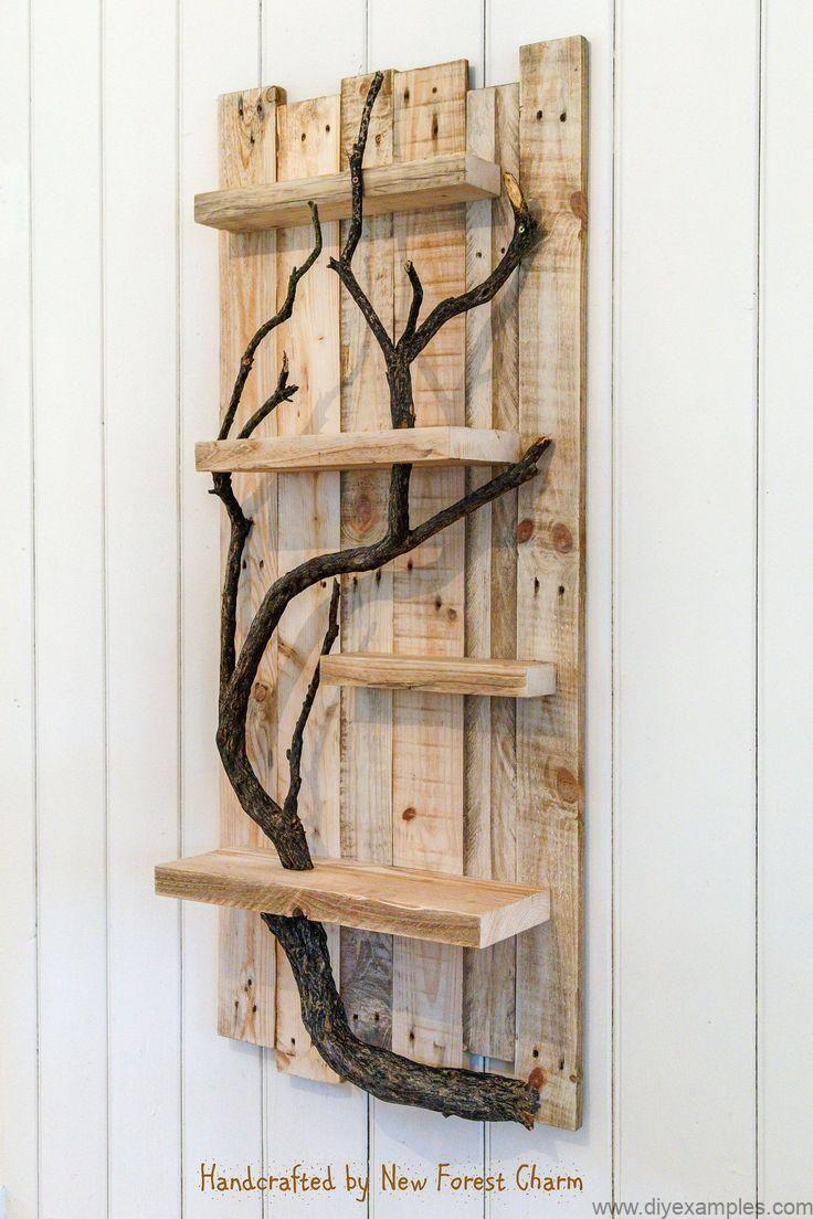 17 Amazing Diy Home Decor Craft Ideas You Can Easily Complete Wood Home Decor Art Shelves Home Decor Wall Art