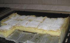 A krémes egy közkedvelt sütemény, még a gyerekkorunkra nyúlik vissza. Anyukám rendszeresen sütötte Hozzávalók 30 dkg sima liszt 6 dkg zsír 10 dkg cukor 1 tojássárgája 1 dkg szalalkáli (csak ez a lazító használható) 3 evőkanál víz Krémhez 1 csomag vaníliakrémpor (pudingpor) 4 dkg liszt 3/4 l tej 15 dkg cukor 1/4 rúd vanília 2 …