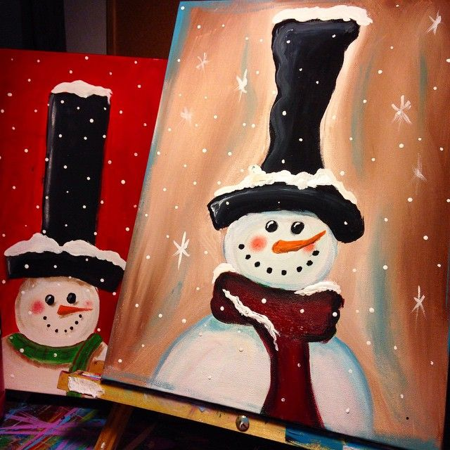 Painting pARTy in Langley BC Frosting Cupcakery December 5th 7pm Langley, British Columbia,  Surrey BC, Fraser Valley zealousart
