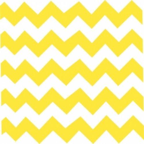 Papel de parede adesivo - Chevron amarelo