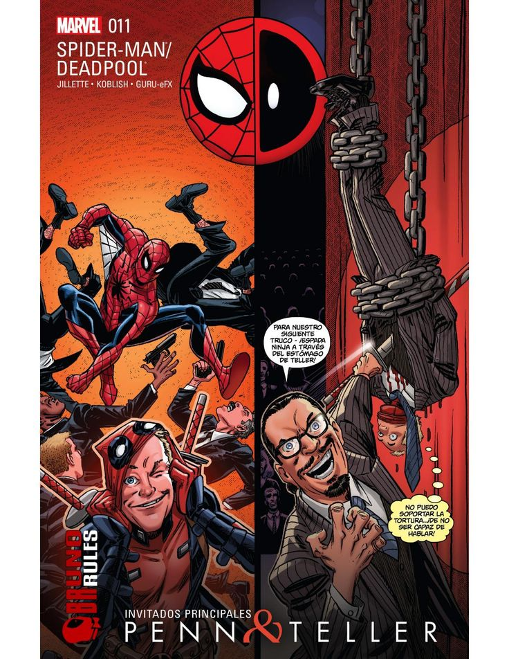 Spider man deadpool #11 brunoru desconocido