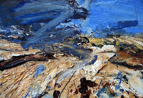 """Stubble Fields, A Hot Day (Tarn)"" (David Tress)"