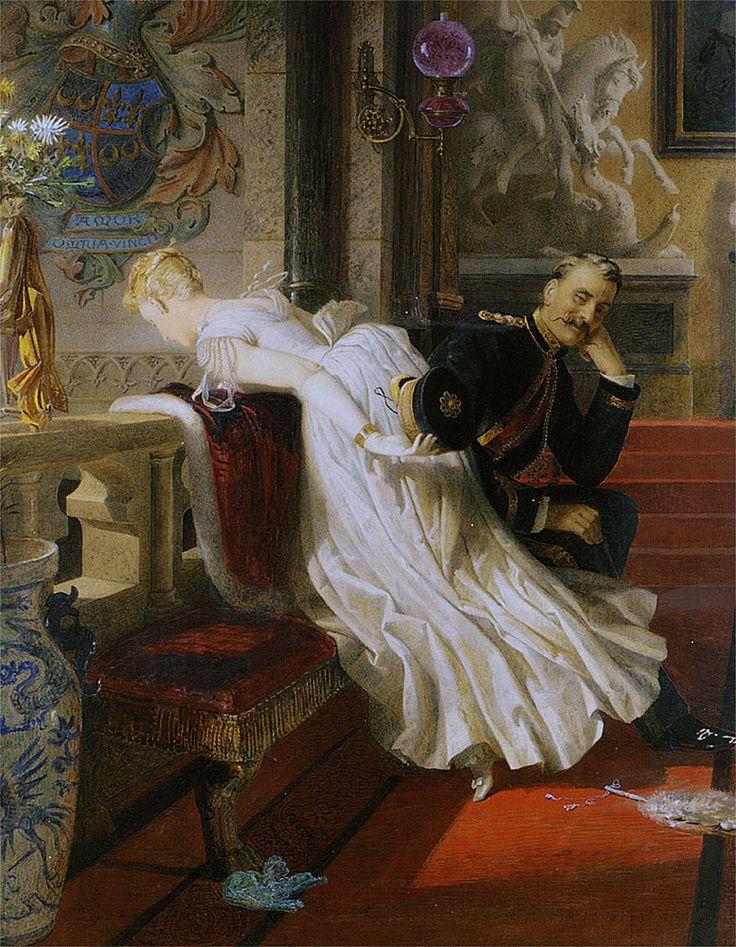 Edward Henry Corbould (1815-1905). Любовь побеждает все