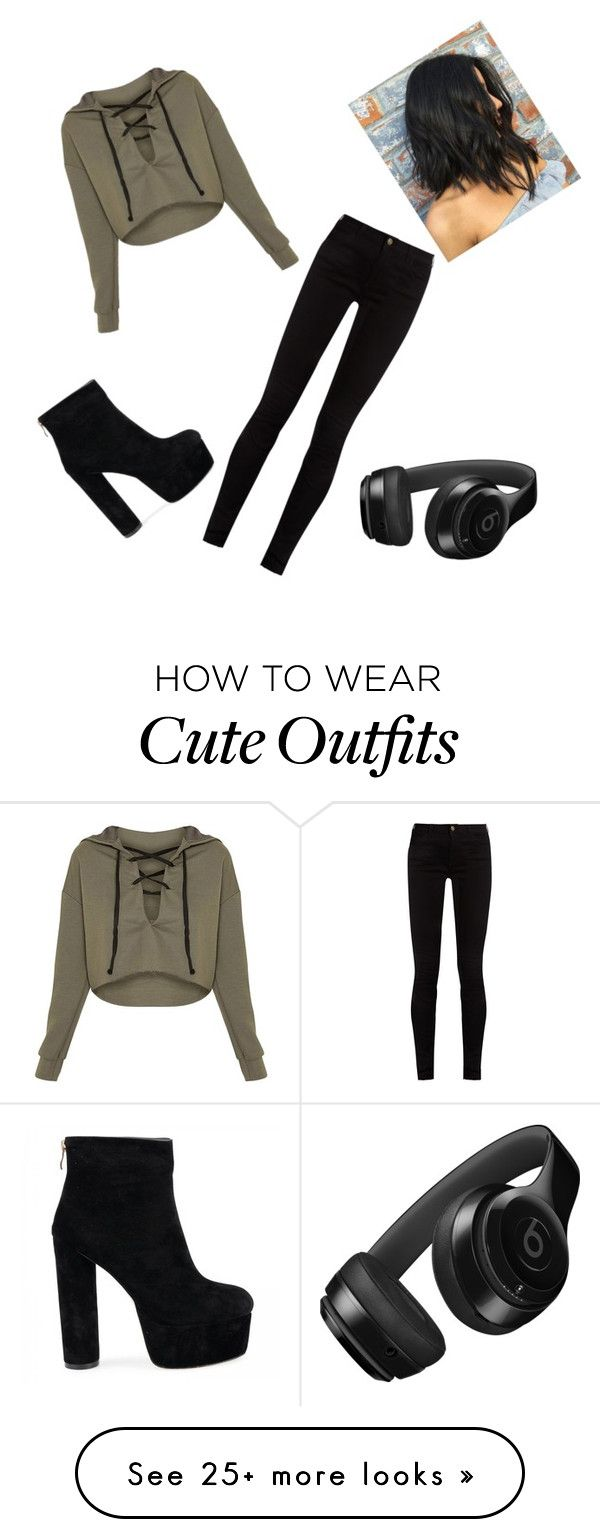 """""""Outfit #2 : Cute Fall Outfit"""" by lyricalers on Polyvore featuring Gucci and Beats by Dr. Dre"""