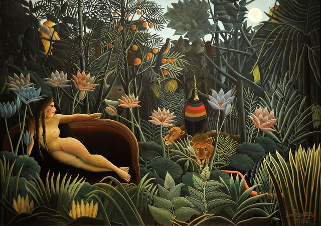 Henri ROUSSEAU - The Dream (1910), Museum of Modern Art, New York.